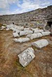 Column Ruins in Perga Colosseum Stock Photos