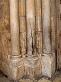Column of Sacred Fire in Church of the Resurrection. Jerusalem, Israel Royalty Free Stock Images