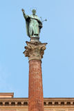 Column of Saint Dominic, Bologna, Italy Stock Photos