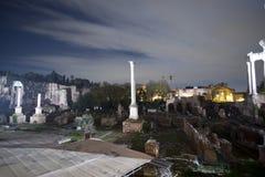 Column seal, Roman Forum Stock Photos