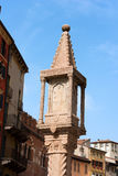 Column Shrine - Piazza delle Erbe Verona Royalty Free Stock Photos