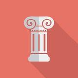 Column single icon. Stock Image