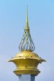 Column of sling Bridge Nonthaburi Stock Photos