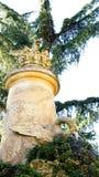 Column source Horta Labyrinth Royalty Free Stock Photos