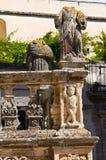 Column of St. Andrea. Presicce. Puglia. Italy. Stock Photography
