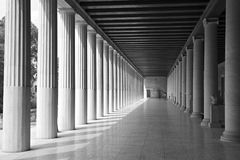 Column, Structure, Black And White, Landmark royalty free stock photos
