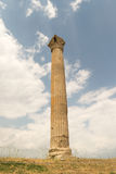 Column of the temple of Zeus in Greece. Royalty Free Stock Images
