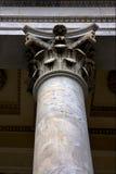 Column in the center of chiavari italy Stock Image