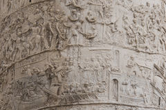 Column of Trajan detail Stock Image