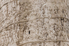 Column of Trajan detail Royalty Free Stock Photo