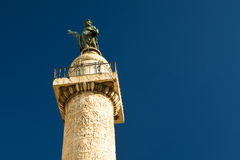 Column of Trajan in Rome Stock Photography