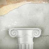 Column, vintage background Royalty Free Stock Image