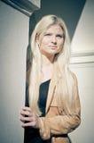 column woman Στοκ φωτογραφία με δικαίωμα ελεύθερης χρήσης