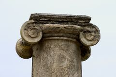 Columna Foto de archivo