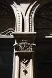 Columna adornada en Venecia, Italia. Fotos de archivo libres de regalías