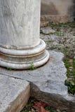Columna antigua vieja Fotografía de archivo