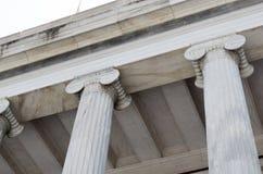 Columna arquitectónica Fotografía de archivo