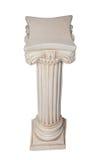 Columna blanca Imagen de archivo