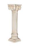 Columna blanca Fotografía de archivo