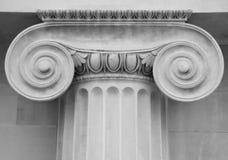 Columna clásica Imágenes de archivo libres de regalías