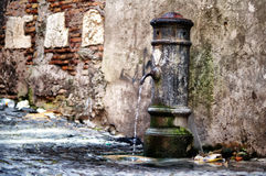 Columna de agua Fotografía de archivo