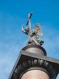 Columna de Alexander en St Petersburg Imágenes de archivo libres de regalías