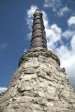 Columna de Cemberlitas con los anillos en Estambul Imagenes de archivo
