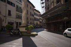 Columna de Florencia, Italia Foto de archivo libre de regalías