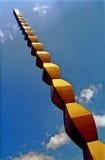 Columna de infinito fotos de archivo