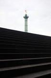 Columna de julio del Bastille Fotografía de archivo