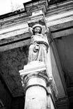 Columna de la cariátide Fotos de archivo