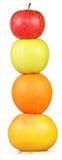 Columna de la fruta colorida Imagen de archivo