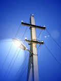 Columna de la iluminación Fotos de archivo