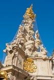 Columna de la plaga Imagen de archivo