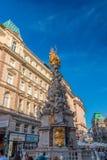 Columna de la plaga en Viena Fotografía de archivo libre de regalías