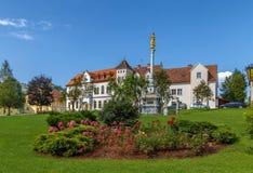 Columna de la plaga, Seckau, Austria Imagen de archivo libre de regalías