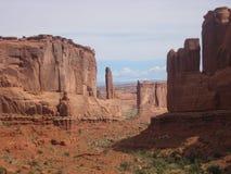 Columna de la roca Foto de archivo