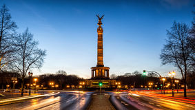 Columna de la victoria en Berlín, Alemania Foto de archivo libre de regalías