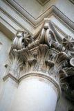 Columna de mármol Imágenes de archivo libres de regalías