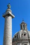 Columna de Marco Aurelius fotografía de archivo libre de regalías