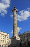 Columna de Marco Aurelius Foto de archivo libre de regalías