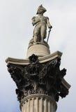 Columna de Nelsons Fotos de archivo