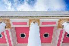 Columna de piedra blanca Fotografía de archivo libre de regalías