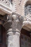 Columna de piedra veneciana Imagen de archivo libre de regalías