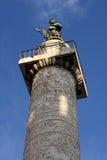 Columna de Trajan en Roma fotos de archivo libres de regalías