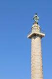 Columna de Trajan, Roma Fotografía de archivo