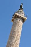 Columna de Trajan, Roma Imágenes de archivo libres de regalías