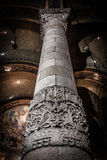 Columna del corazón de Sagrat Imágenes de archivo libres de regalías