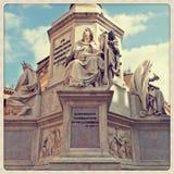 Columna del inmaculado Foto de archivo libre de regalías