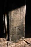 Columna del Khmer imagen de archivo libre de regalías